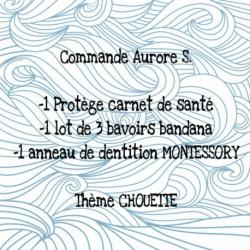 *** RESERVE *** Commande Personnalisée Aurore S.