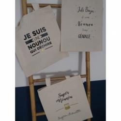 "Tote bag "" Cadeau NOUNOU """