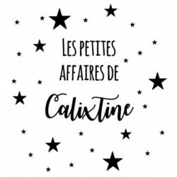 "*** RESERVE ***  Commande Amandine L. - Tote Bag ""Les petites affaires de Calixtine"""