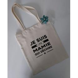 """Tote bag """" MAMIE """""""