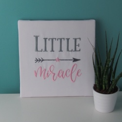 "Toile ""LITTLE MIRACLE"""