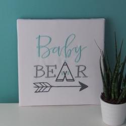 "Toile ""BABY BEAR"""