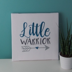"Toile ""LITTLE WARRIOR"""