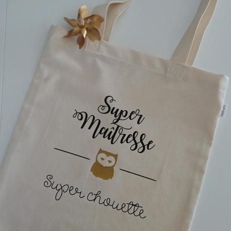 """Tote bag """" Cadeau MAÎTRESSE """""""