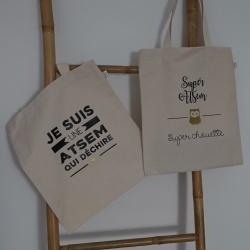 """Tote bag """" Cadeau ATSEM """""""
